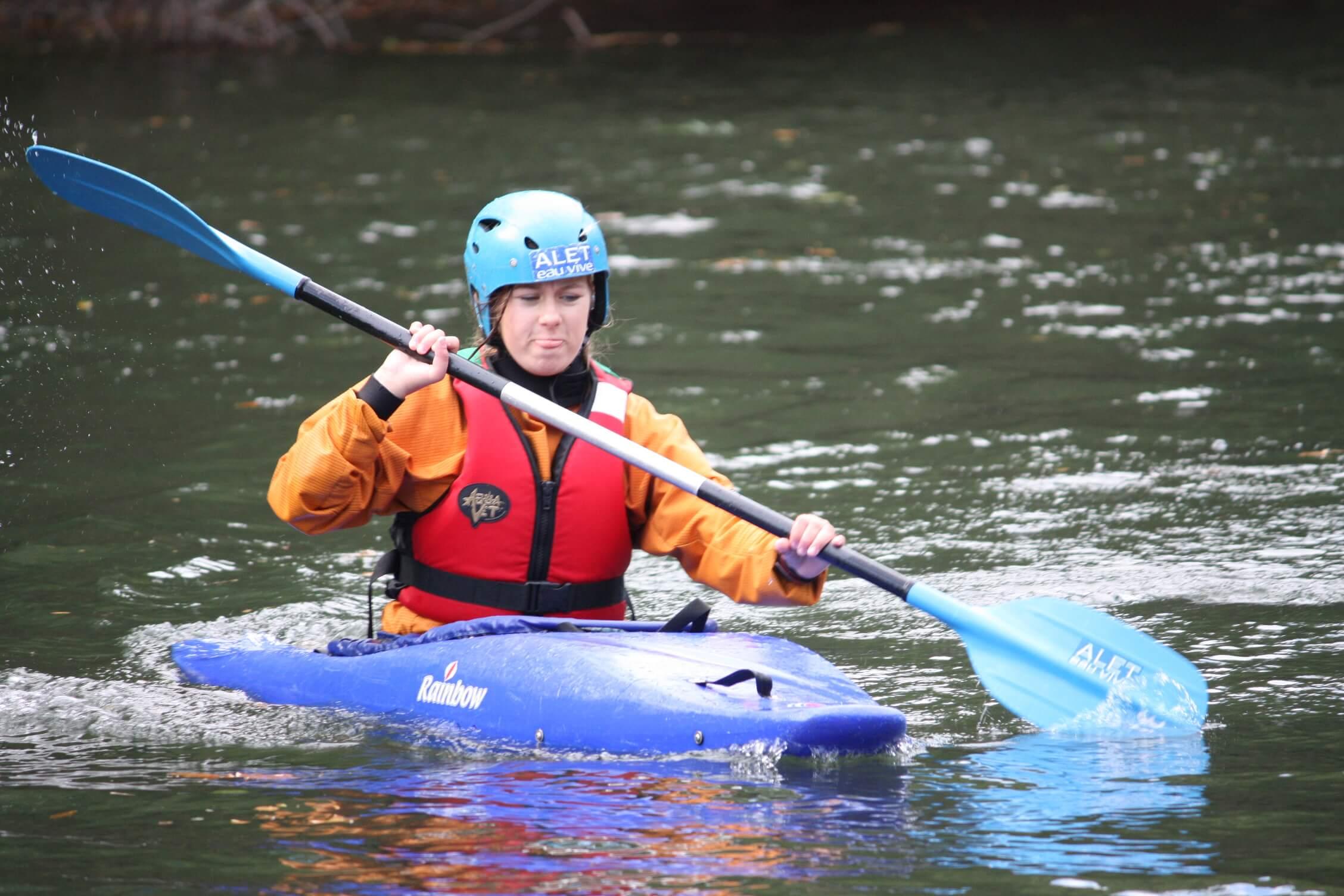 Kayak dans la haute vallée de l'aude - aleteauvive